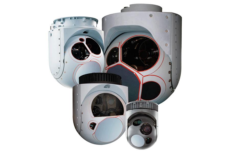 IR- und EO-Kamerasysteme