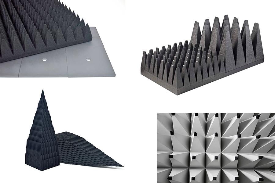Pyramidové absorbéry