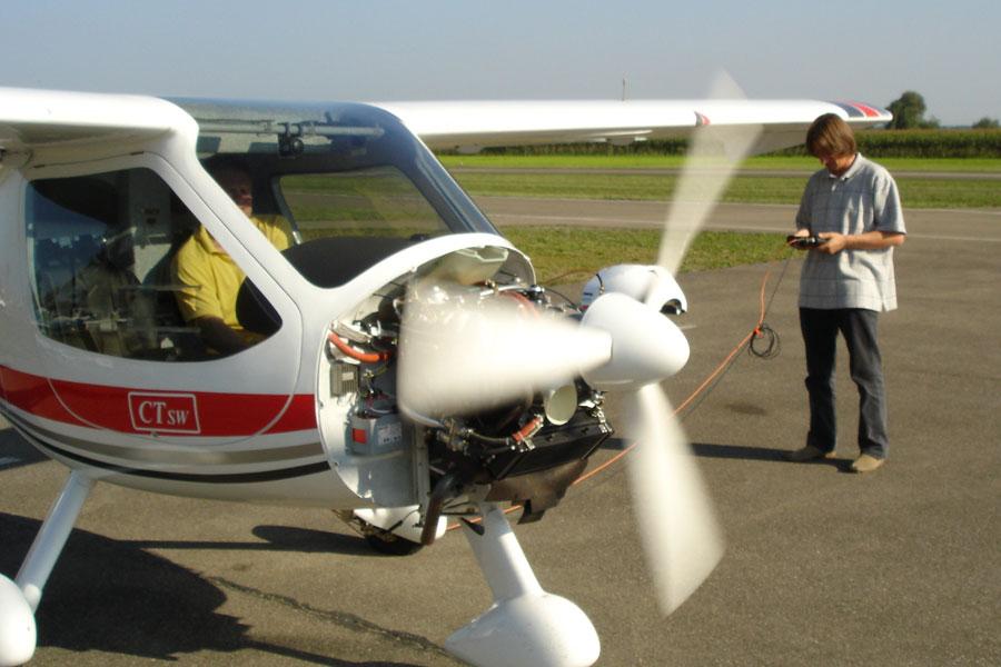Messsysteme für Rotoren und Propeller