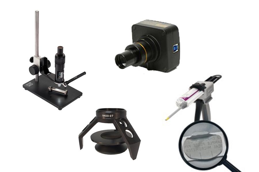 Příslušenství k optickému mikrometru