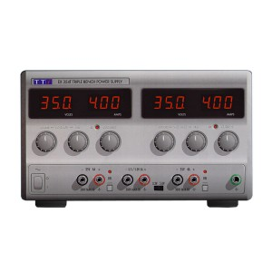 EX354RT Bench DC Power Supply, Mixed-mode Regulation, Analog Controls 2 x 35V/4A plus 1.5-5V/5A Triple Output