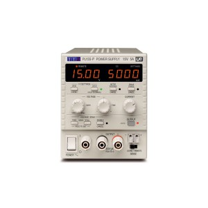 PL155P Bench System DC Power Supply, Linear Regulation, Smart Analog Controls Single Output, 15V/5A, USB, RS232 & LAN Interfaces (GPIB option)