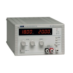 TSX1820 Bench/System DC Power Supply, Single Output, Mixed-mode Regulation 18V/20A with Analog Controls, No Remote Interfaces
